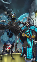 [commission] Tyl Regor and Nef Anyo by lotushim554