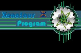 XenoSaur Program Logo by JSpinoraptor