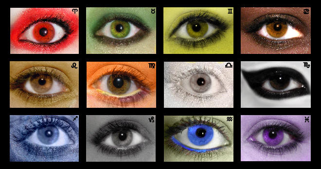 Eyes of the Zodiac by xiam-anartform