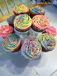 Cupcake Mountain by dashedandshattered