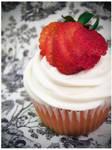 Strawberry CreamCheese Cupcake