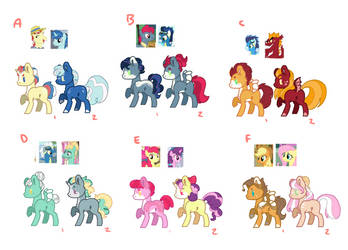 Mlp Crack ship adopts (points) by CecilyCabbage