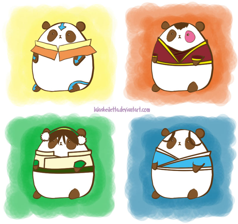 ATLA Panda by LalaSheiletta