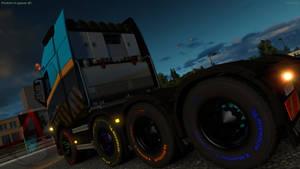 My Volvo FH16 Globetrotter XL 8x4 Heavy Haul