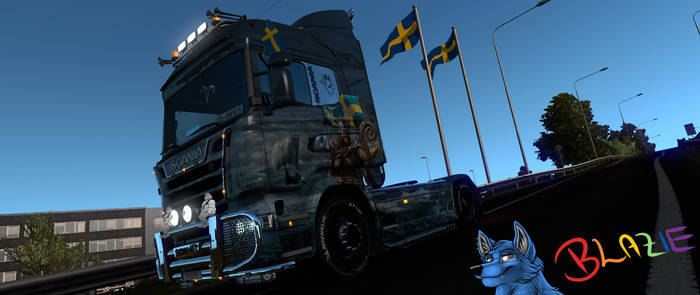.: Sweden Beauty in a Scania :.