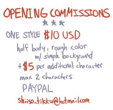 Commissioninfo by shiiso-tikku
