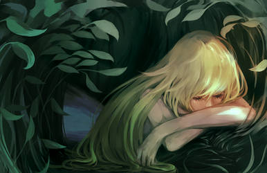 Sleeping Forest by shiiso-tikku