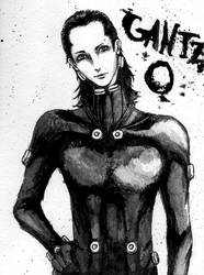 Inktober 14 - Gantz: O by shiiso-tikku