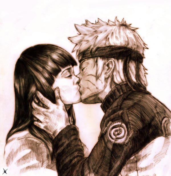 Hinata's First Kiss by Namh