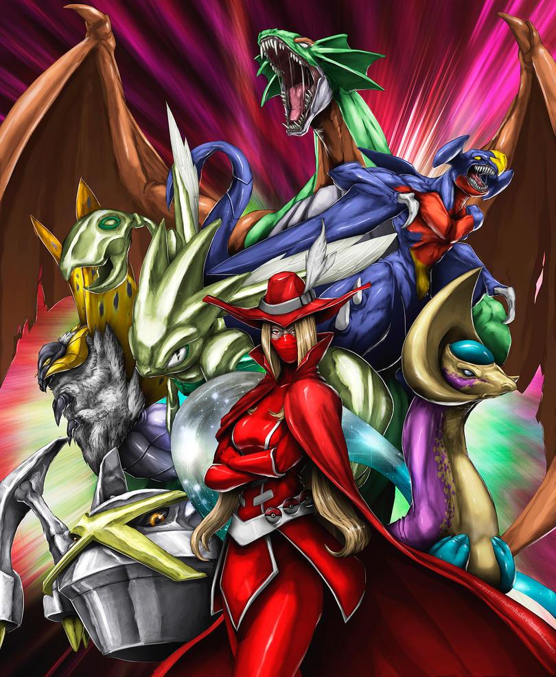 Aggro-Shiny team by Namh