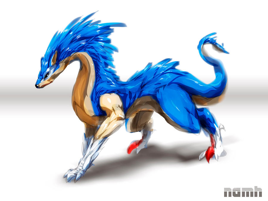 Dragon Sonic by Namh