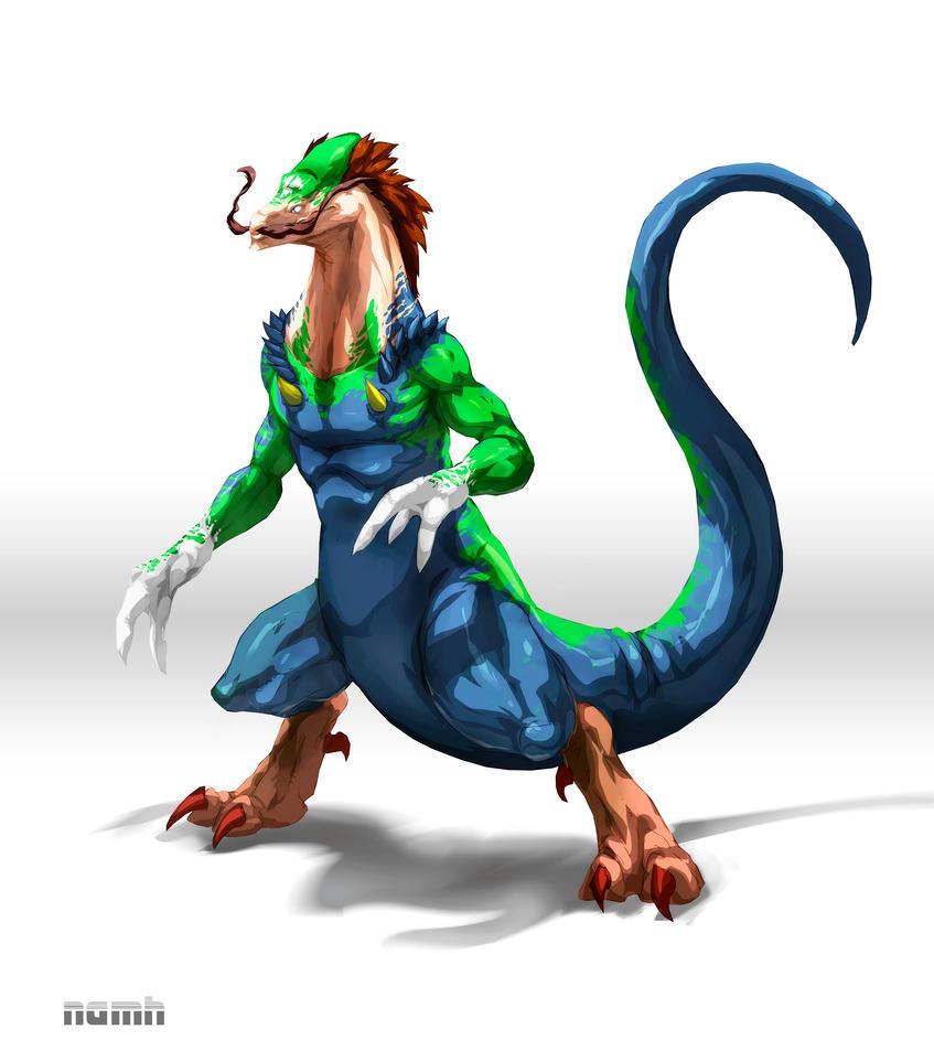 Dragon Luigi by Namh on DeviantArt