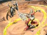 Bone Rush VS Blaze Kick