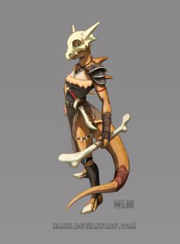 Cubone warrior