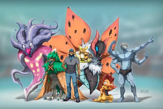 Donavon's Team (Commission)