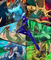 Rairyu's Team (Commission)