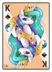 King of Spades - Princess Celestia