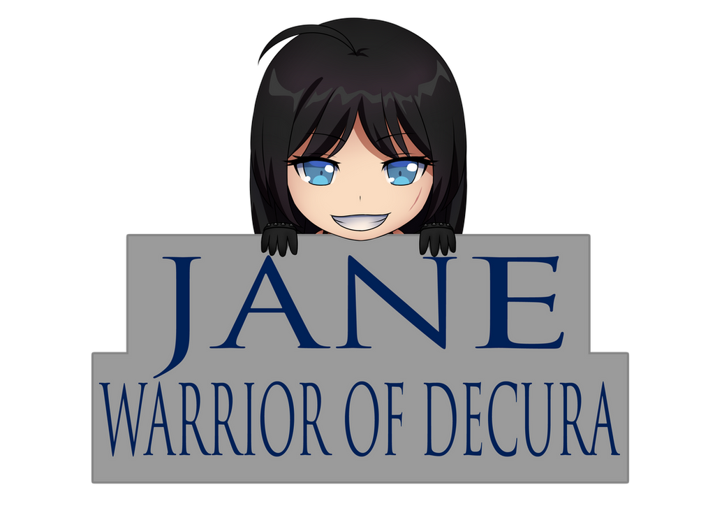 Jane, Warrior of Decura Logo by LordWolx