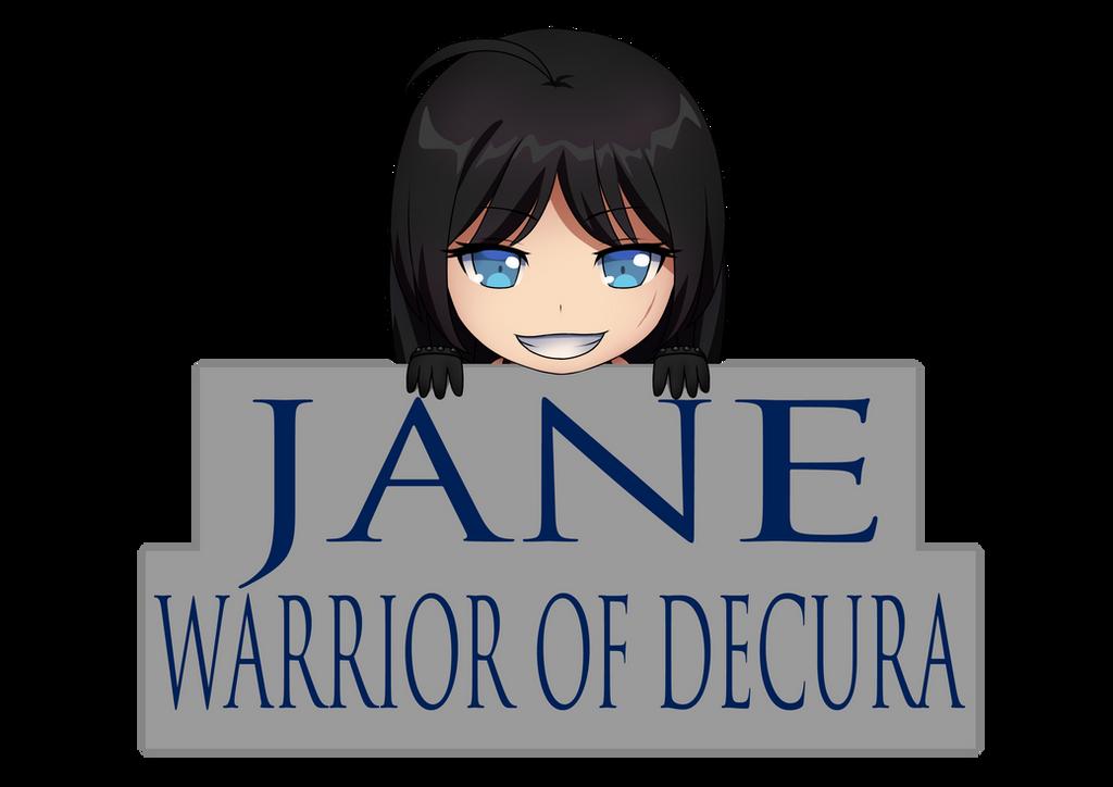 Jane, Warrior of Decura Logo by LordWolx