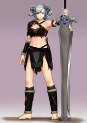 Lightning Princess, Jaie Kaizori by LordWolx