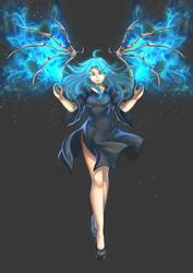 A New Goddess, Hazel August Garnier by LordWolx