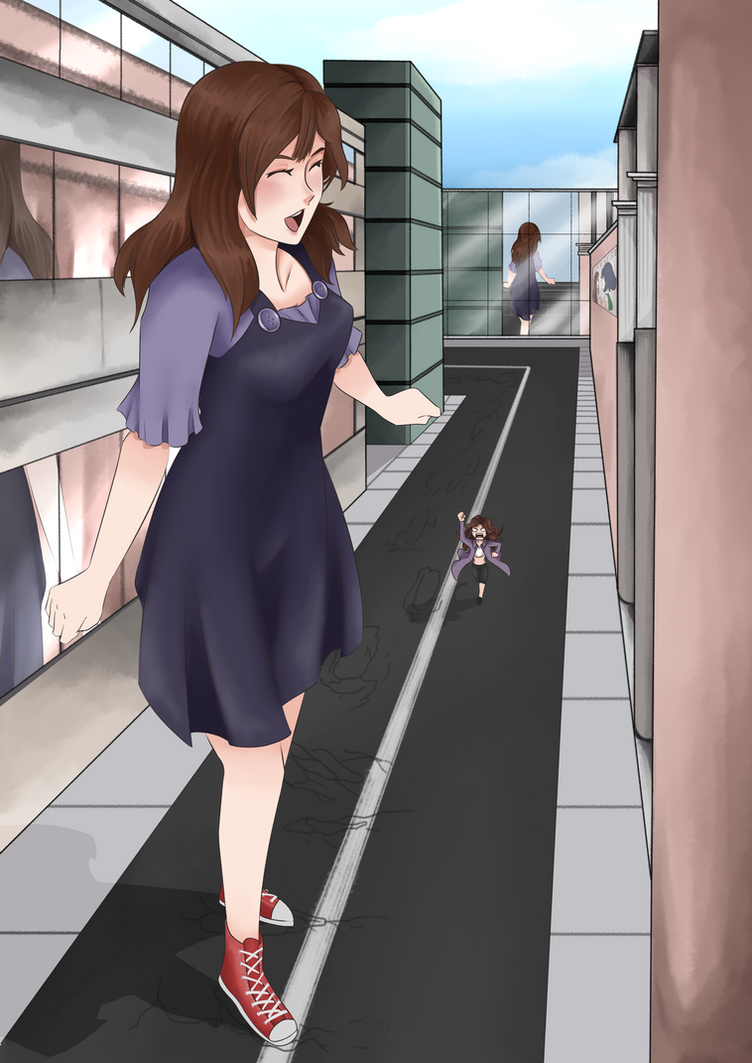Lily Goes for a Walk by LordWolx