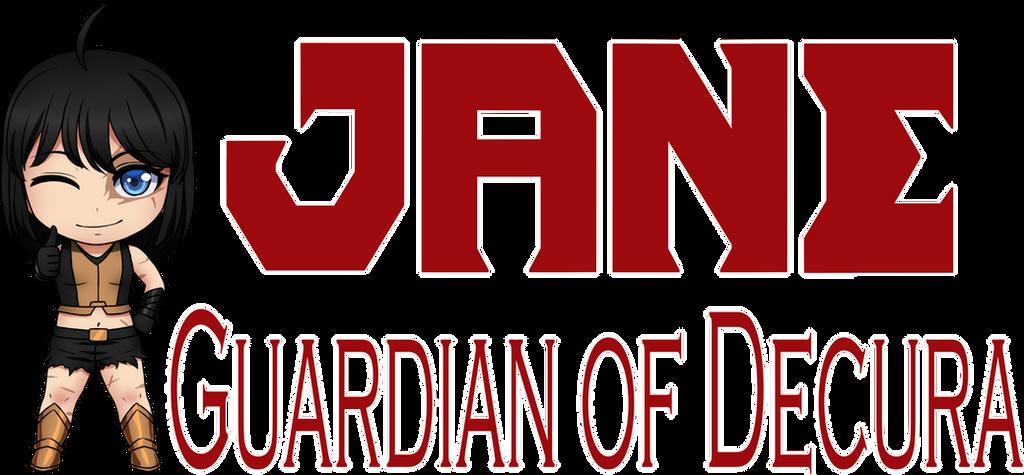 Jane, Guardian of Decura Logo by LordWolx