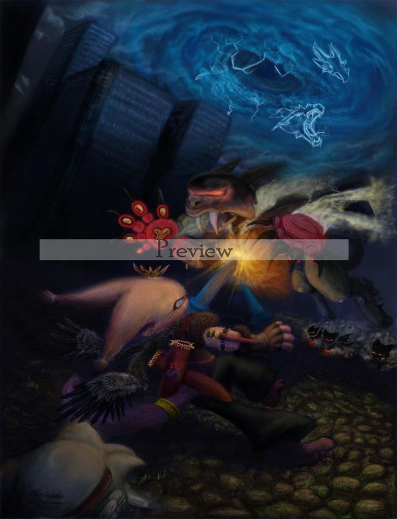invasion - preview by PriscillaHavenaar