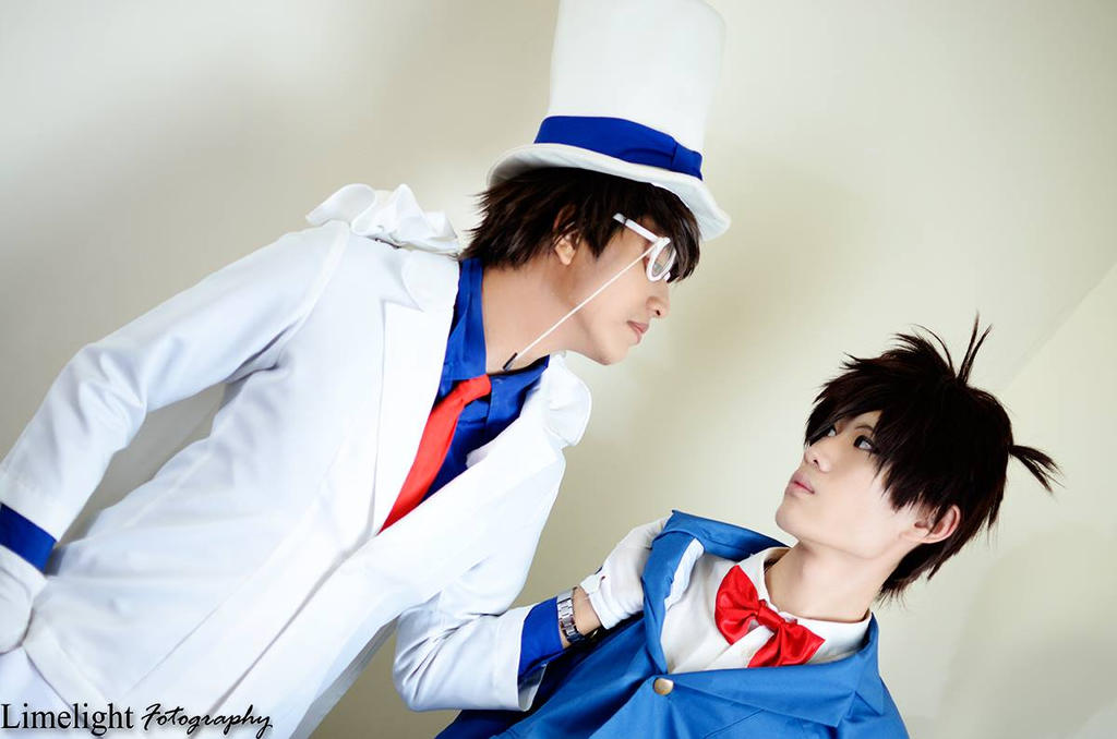 Kaito Kid vs Shinichi Kudo by 00Quantum