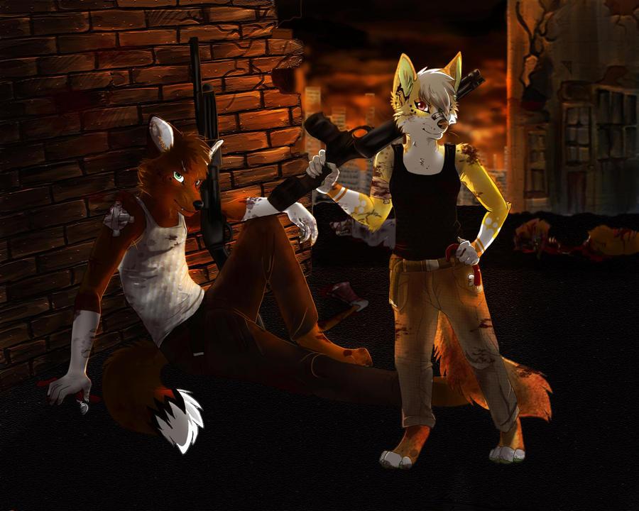 zombie apocalypse by lostwolfsoul on deviantart