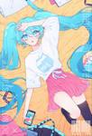 Hatsune Miku by KUREiiRO