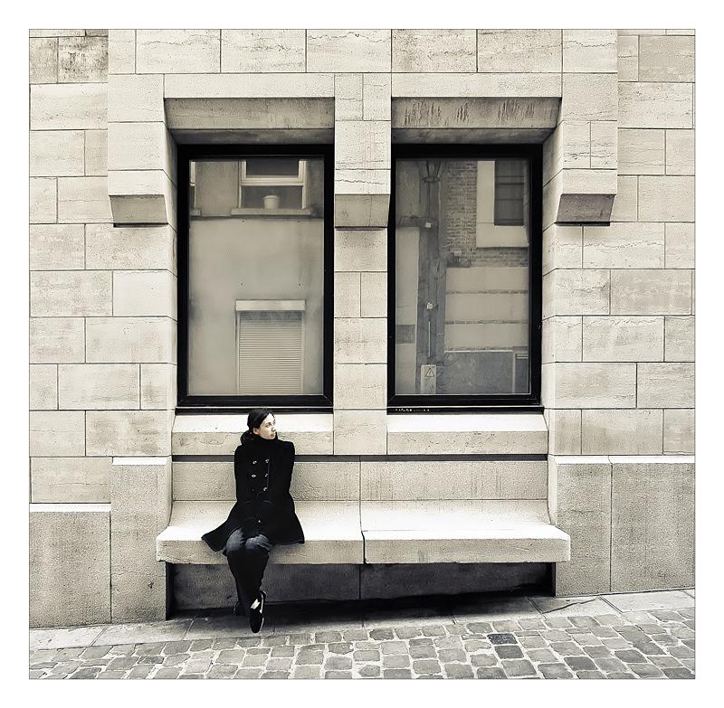 Les reflets de l attente by Sblourg