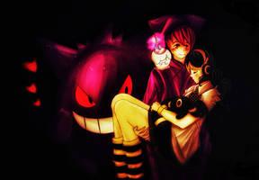 OC Gijinka - How cute... - Akari and Doku  2 by PoppetNoix