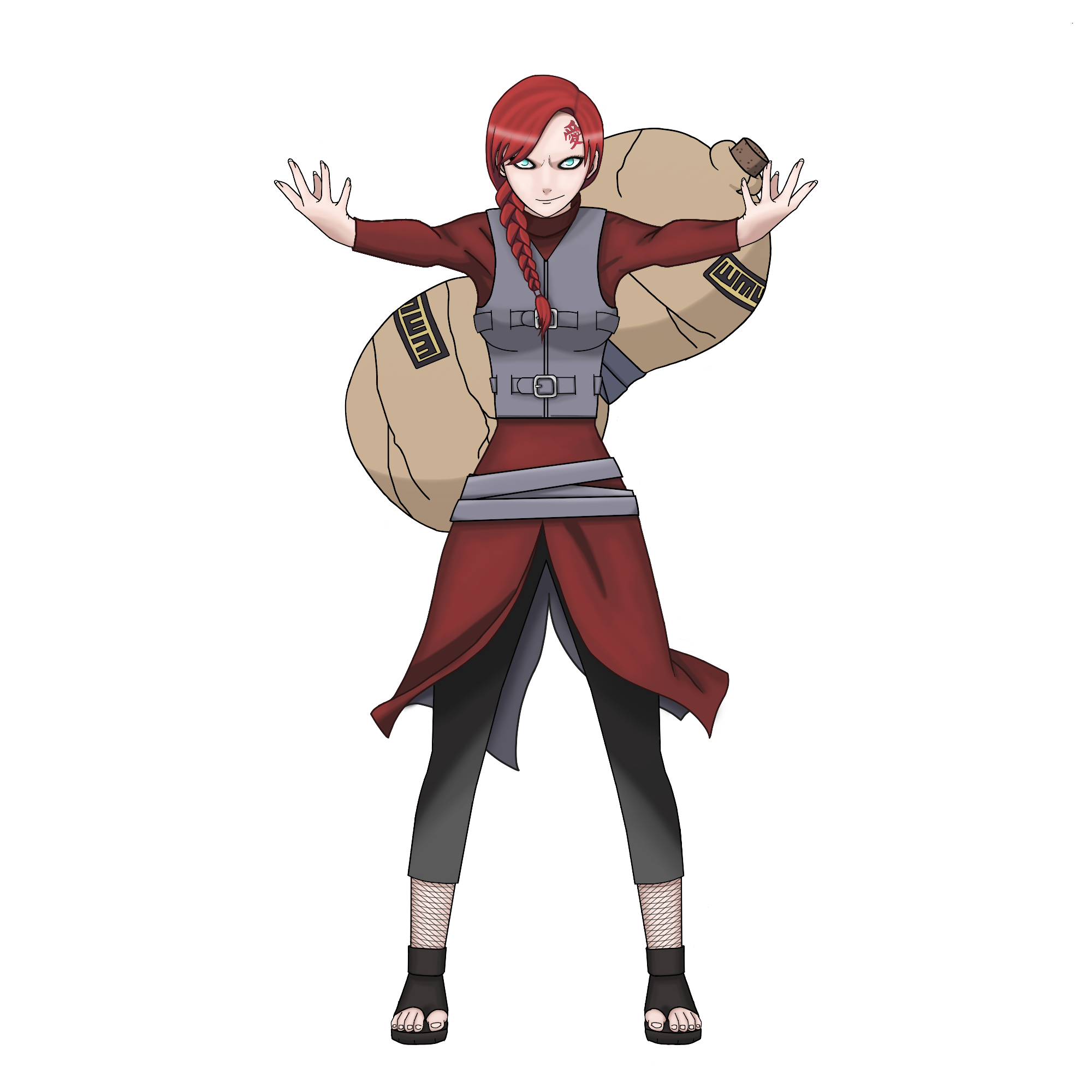 Female Gaara By Toodramatic911 On DeviantArt