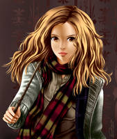 Hermione MANGAstyle by ninaneco
