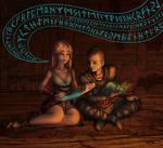 Atreus and Sigyn - Rune Study
