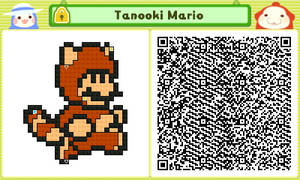 Tanooki Mario QR