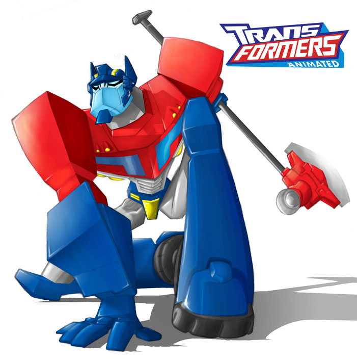 optimus prime by Darda