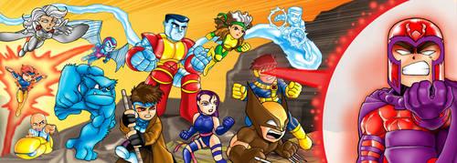 Chibi X-men revised by Darda