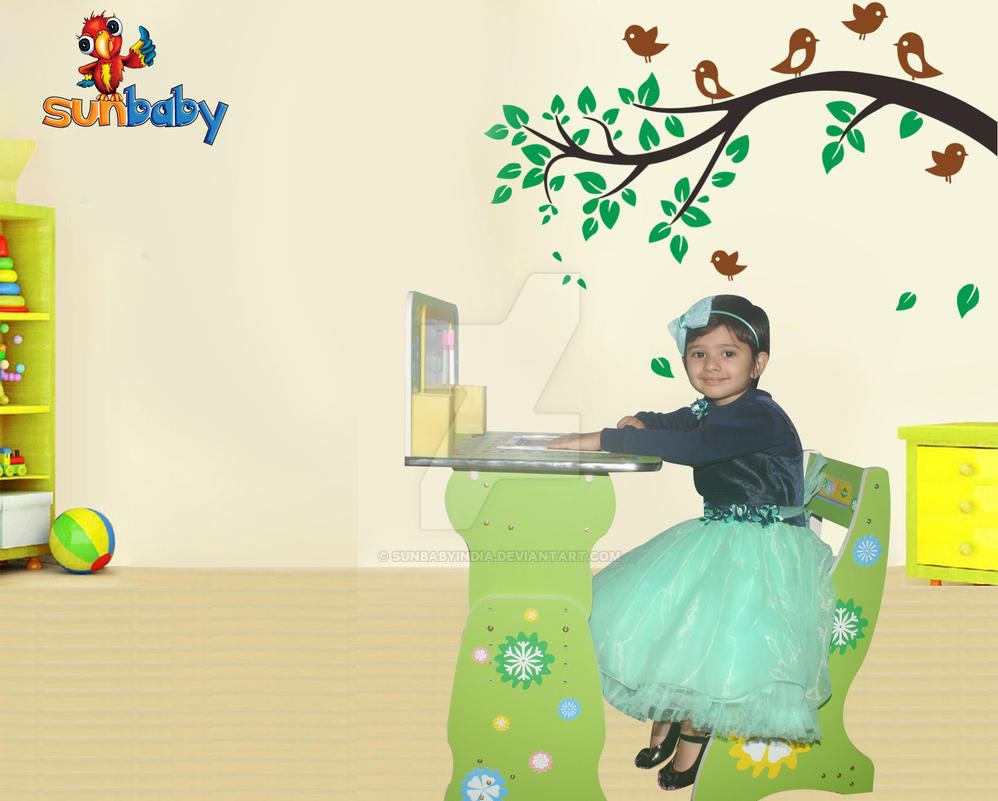 Buy online kids table and chairs at cheap price by for Buy art online india