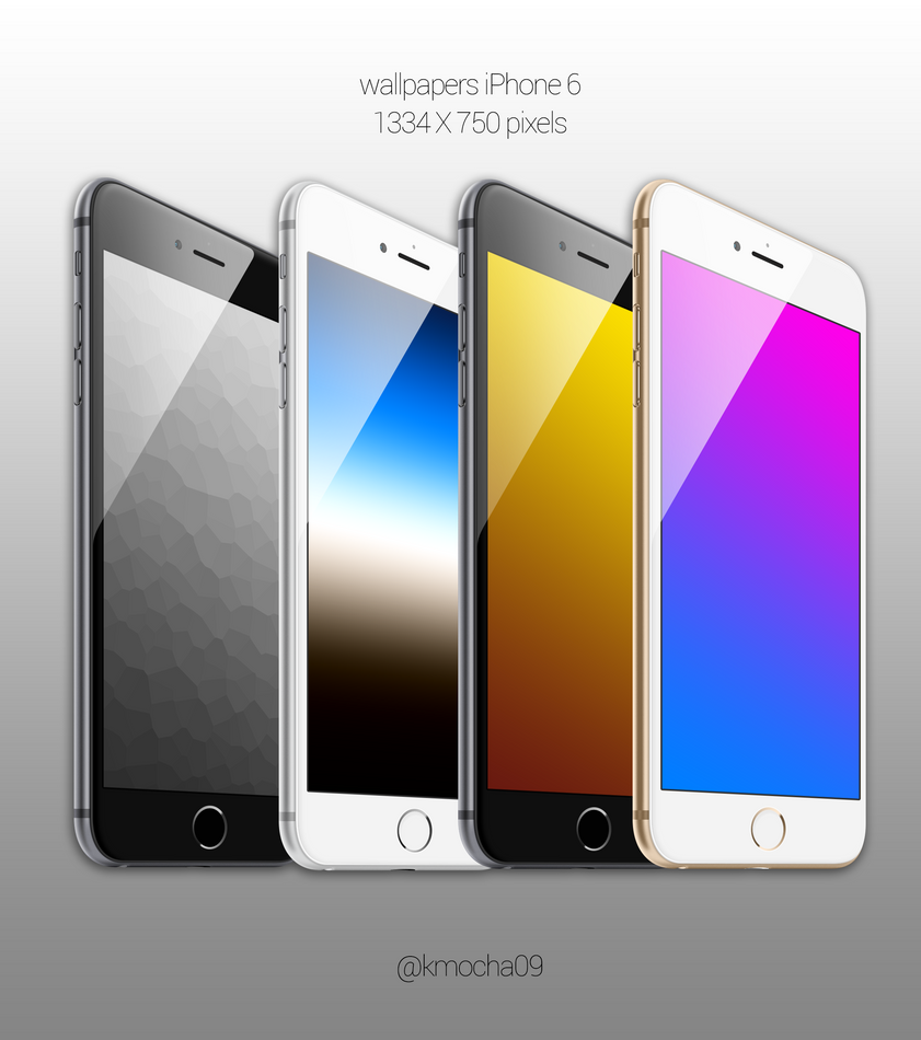 Wallpapers iPhone 6 by k-mocha