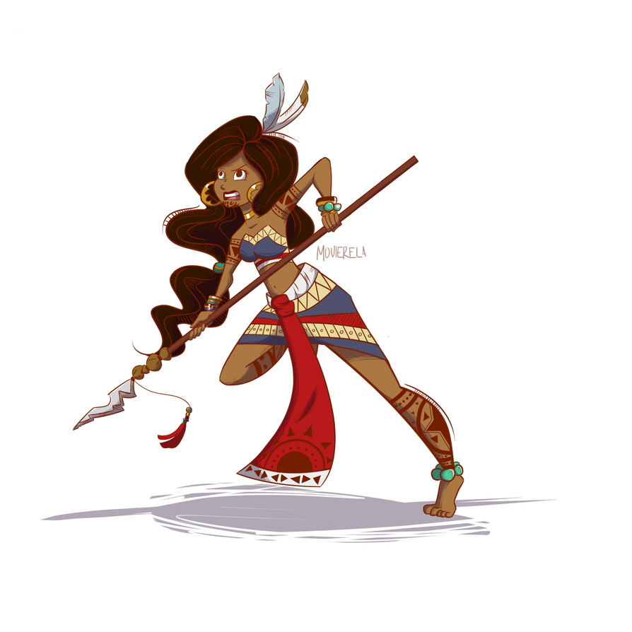 Maori Warrior by Movierela