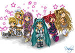 FanArt: Vocaloidy