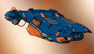 Homeworld 2 Corvette