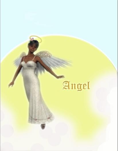 beautiful black angel by lilmoe-moe