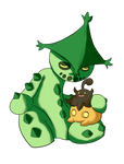 Cacturne and Pumpkaboo