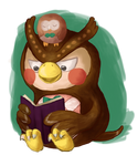 Blathers and Rowlet