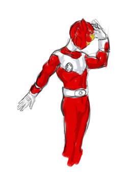 Keisho Red Phoenix Crowdsourced Super Sentai OC