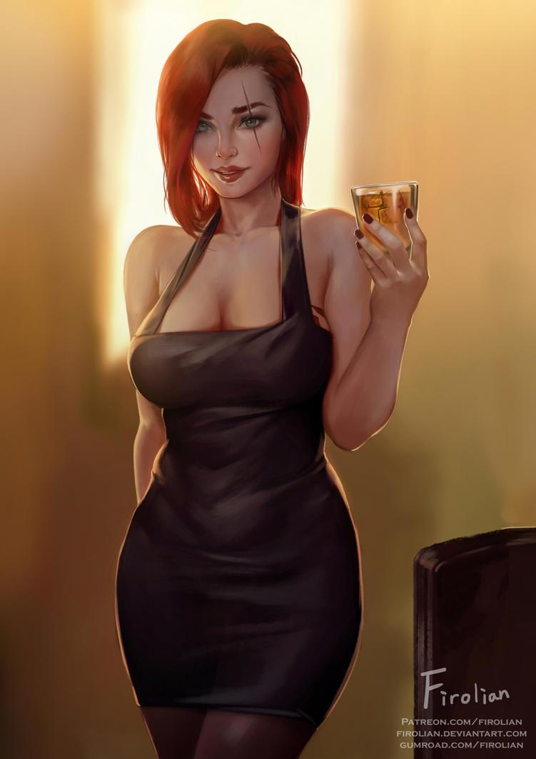 Katarina - Dress by Firolian