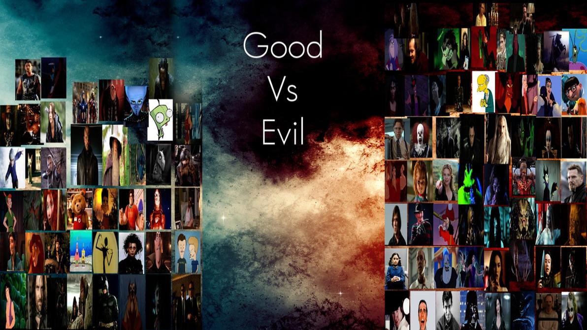 Good Vs Evil Meme by Normanjokerwise